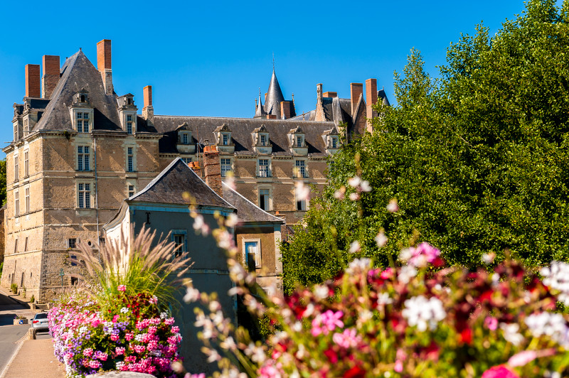 Le chateau de Durtal